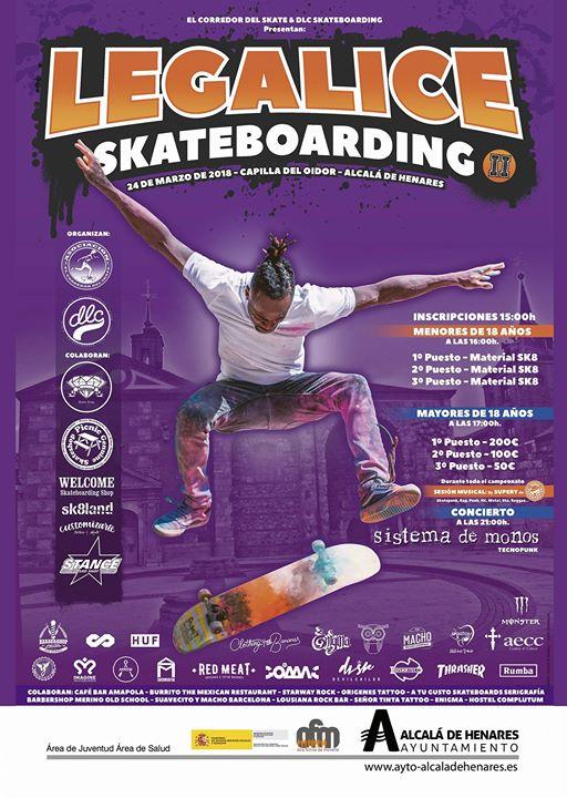 Campeonato Legalize Skateboar II