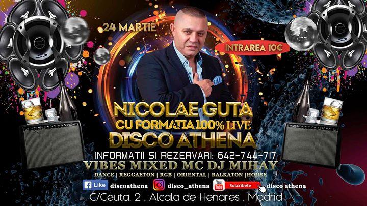 Concert Nicolae Guta Disco Athena