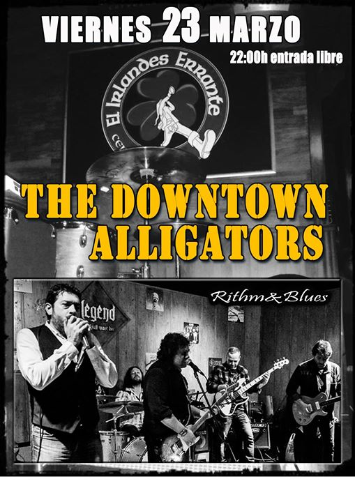 The Downtown Alligators en directo!