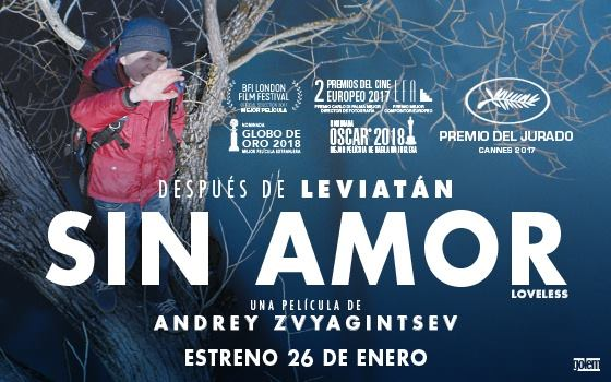 """Sesión de Alcine Club: """"Sin Amor"""", de Andrey Zvyagintsev"""