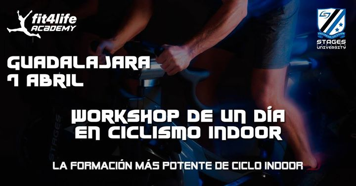 Workshop intensivo Ciclo Indoor en Guadalajara – Fit4LifeAcademy