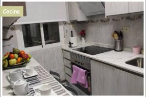 cocina apartamento turístico la cañada