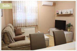salon 1 apartamento turístico la cañada