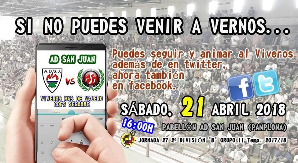 AD San Juan vs Viveros