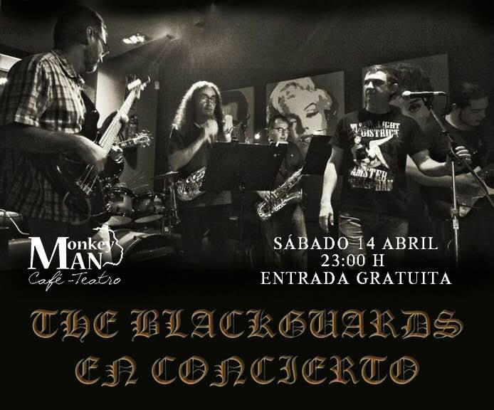 Concierto The Blackguards