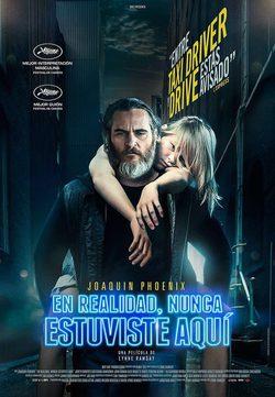 EN REALIDAD, NUNCA ESTUVISTE AQUÍ Ciclo de Cine de Suspense (v.o.s.) Sala de Cine del EJE