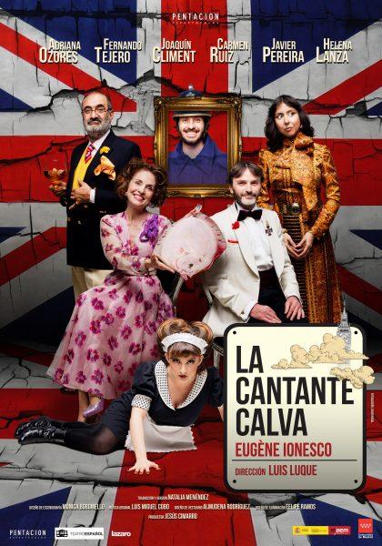 LA CANTANTE CALVA Teatro Buero Vallejo