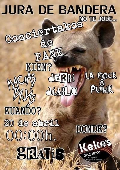 Macías Pajas La rock & Punk Derbi Diablo