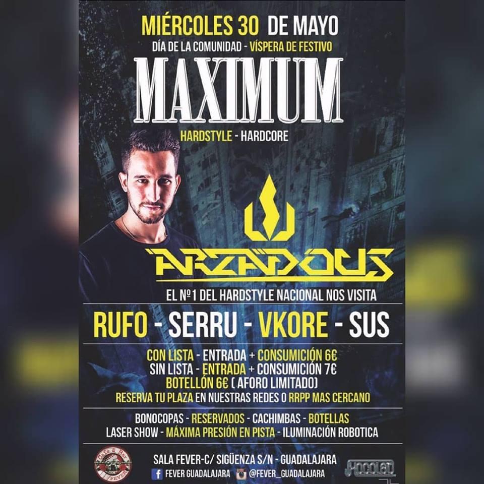 Arzadous at Maximum