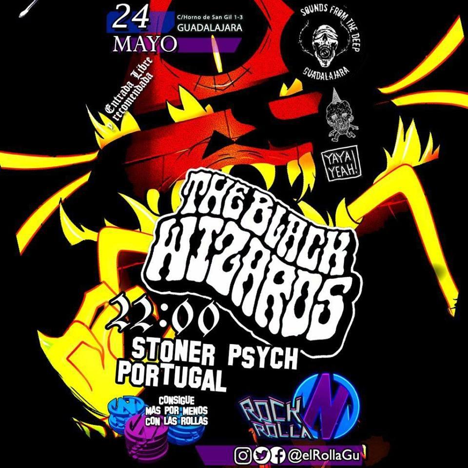 BLACK WIZARDS (Stoner Psych, PORTUGAL) en RockNRolla