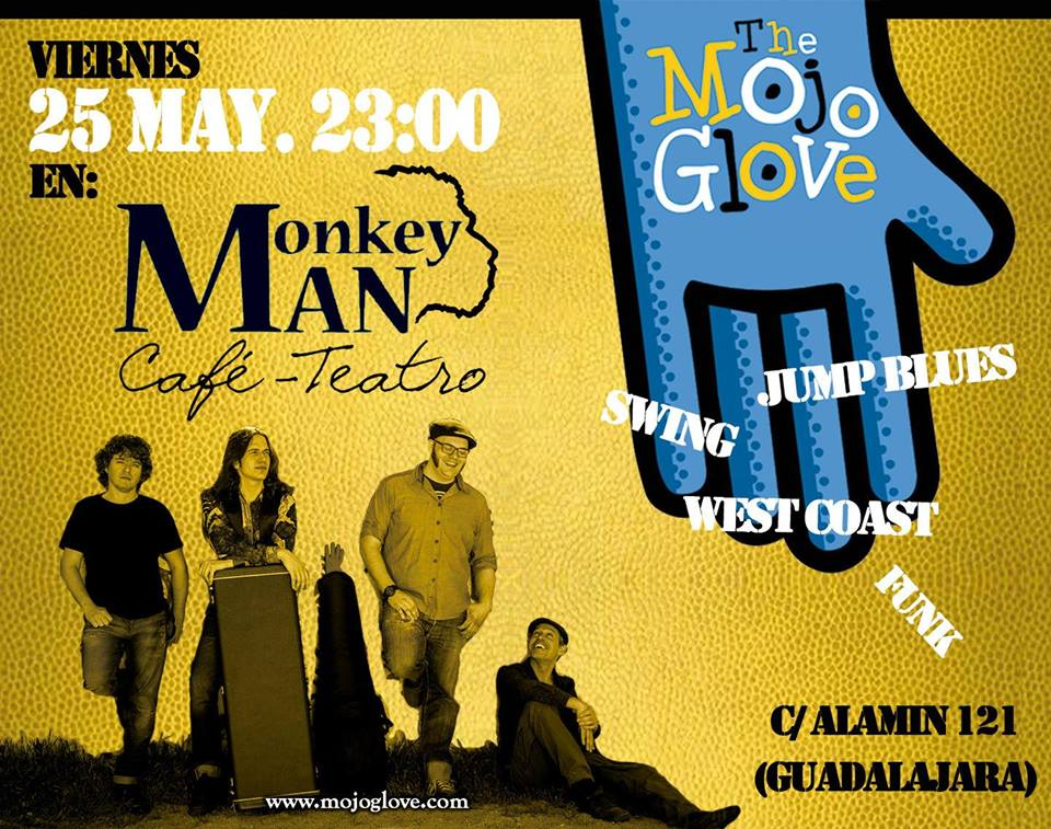 Blues en el Monkey Man Guadalajara