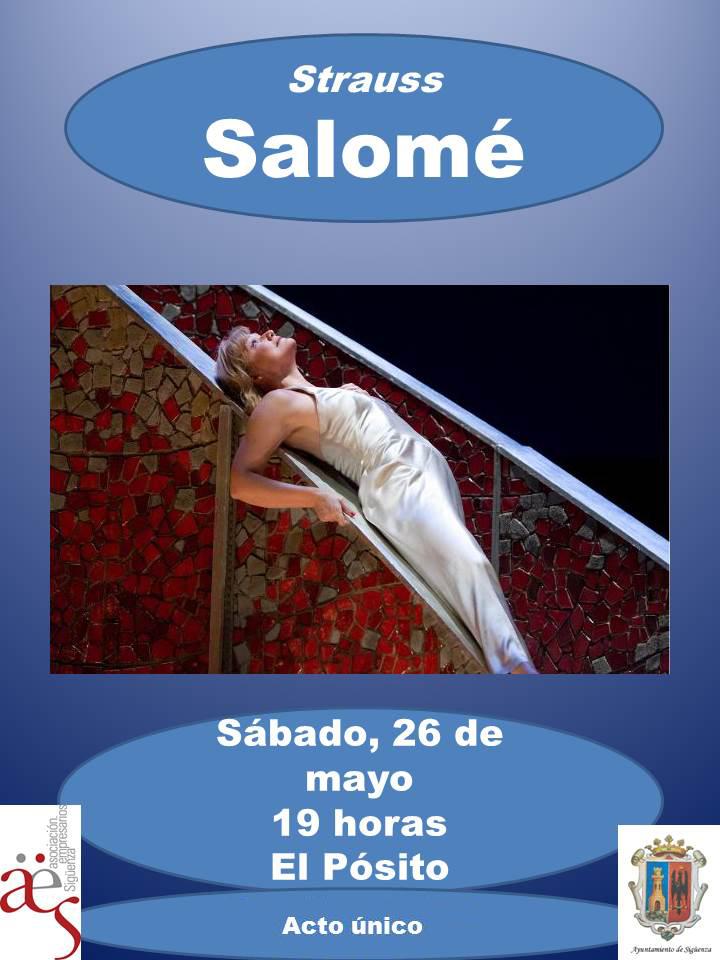 Vive la Opera en Sigüenza proyectará Salomé