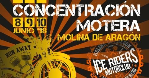 Concentración Motera Ice Riders Molina de Aragón 2018