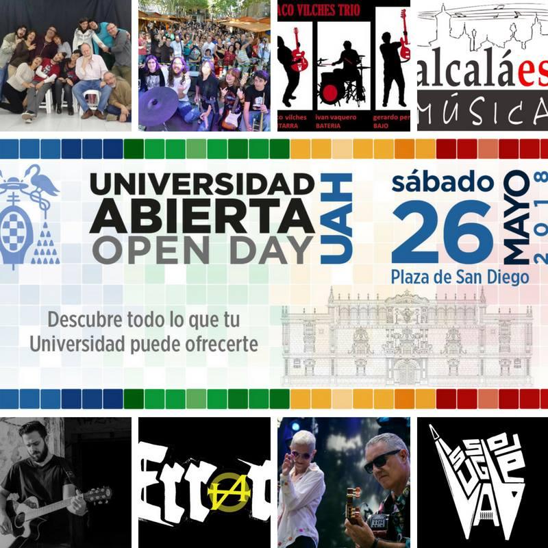 Conciertos en el Open Day de la UAH