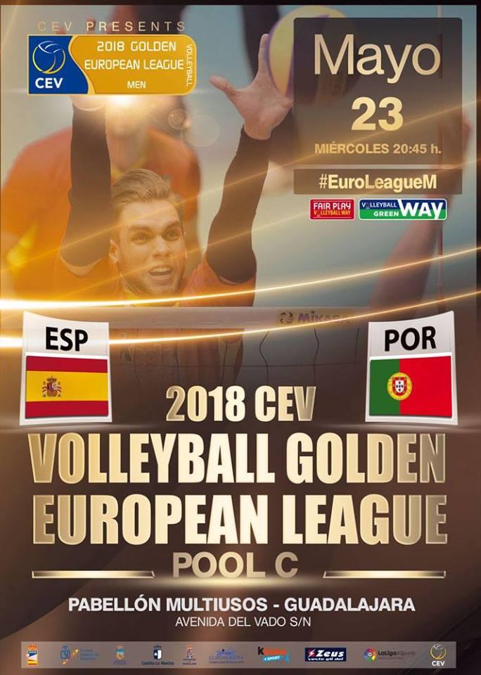 España – Portugal. Liga Europea Masculina 2018