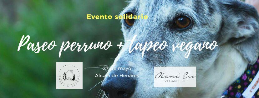 Paseo perruno + Tapeo Vegano (Solidario)