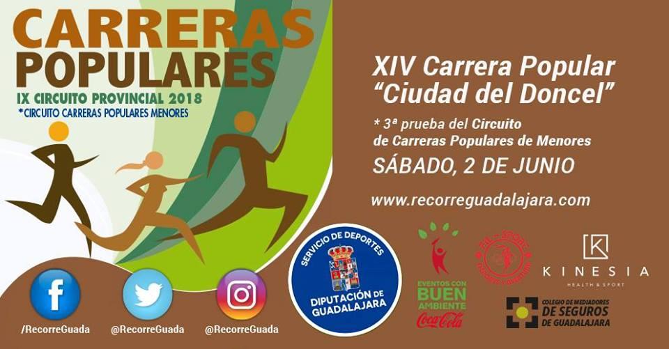 "XIV Carrera Popular ""Ciudad del Doncel"" en Sigüenza"