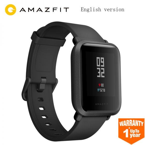 e4a3b2d5a Versión inglés Huami Amazfit Bip Smart Watch GPS Gloness Smartwatch ...