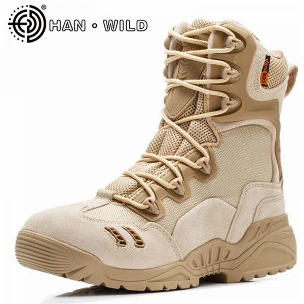 Nuevo desierto Tactical Militar Botas hombres combate Botas calzado ...