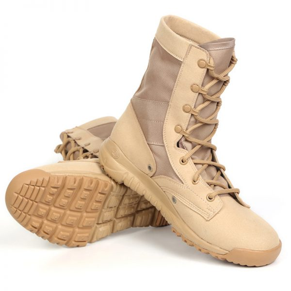 5e8594a23d9 2018 hombres del ejército táctico Botas invierno Militar Botines desierto  verano seguridad Zapatos calzado ...