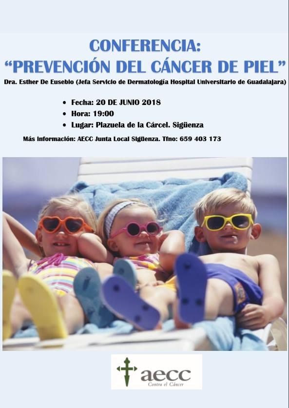 """Conferencia: """"Prevención Cáncer de piel"""""""