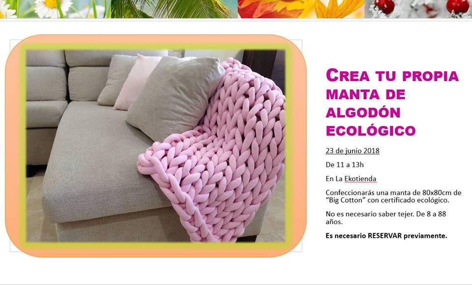 Crea tu propia manta de algodón ecológico