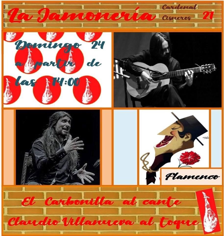 Flamenco en la Jamonería