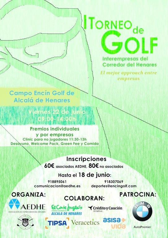 I Torneo de Golf Intermpresas del Corredor del Henares