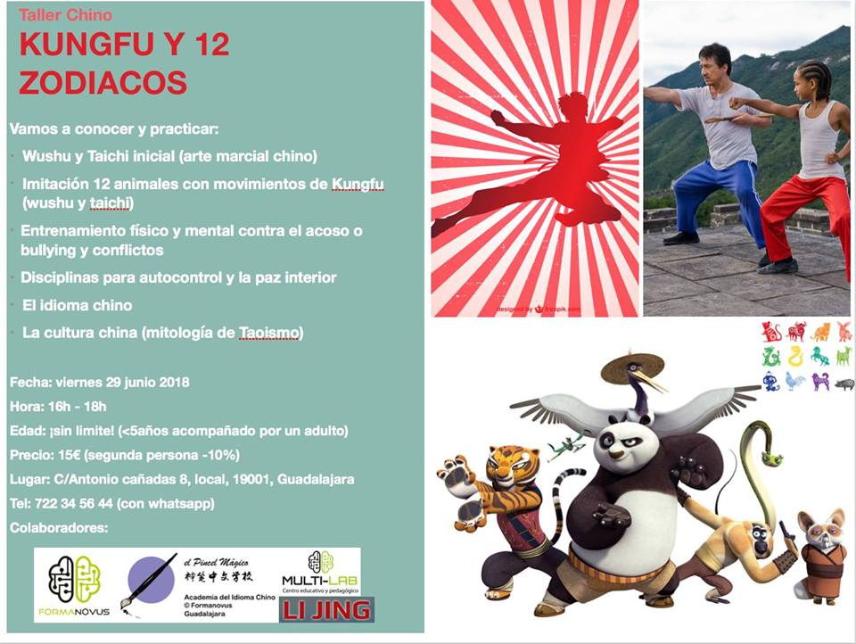 Kungfu Y 12 Zodiacos Chinos