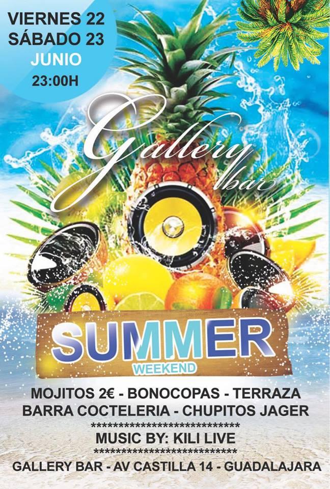 Llega el Verano a Gallery Bar!!!