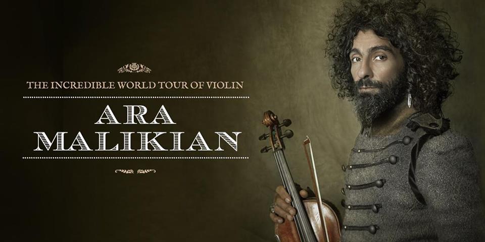 Ara Malikian en Guadalajara. The Incredible World Tour of Violin