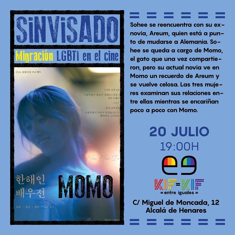 Ciclo 'Sin Visado (Migración LGBTI en el cine): 'Momo'