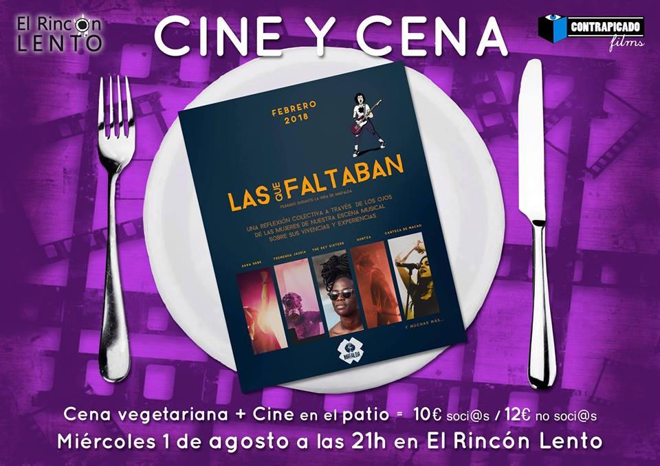 Cine y Cena Agosto
