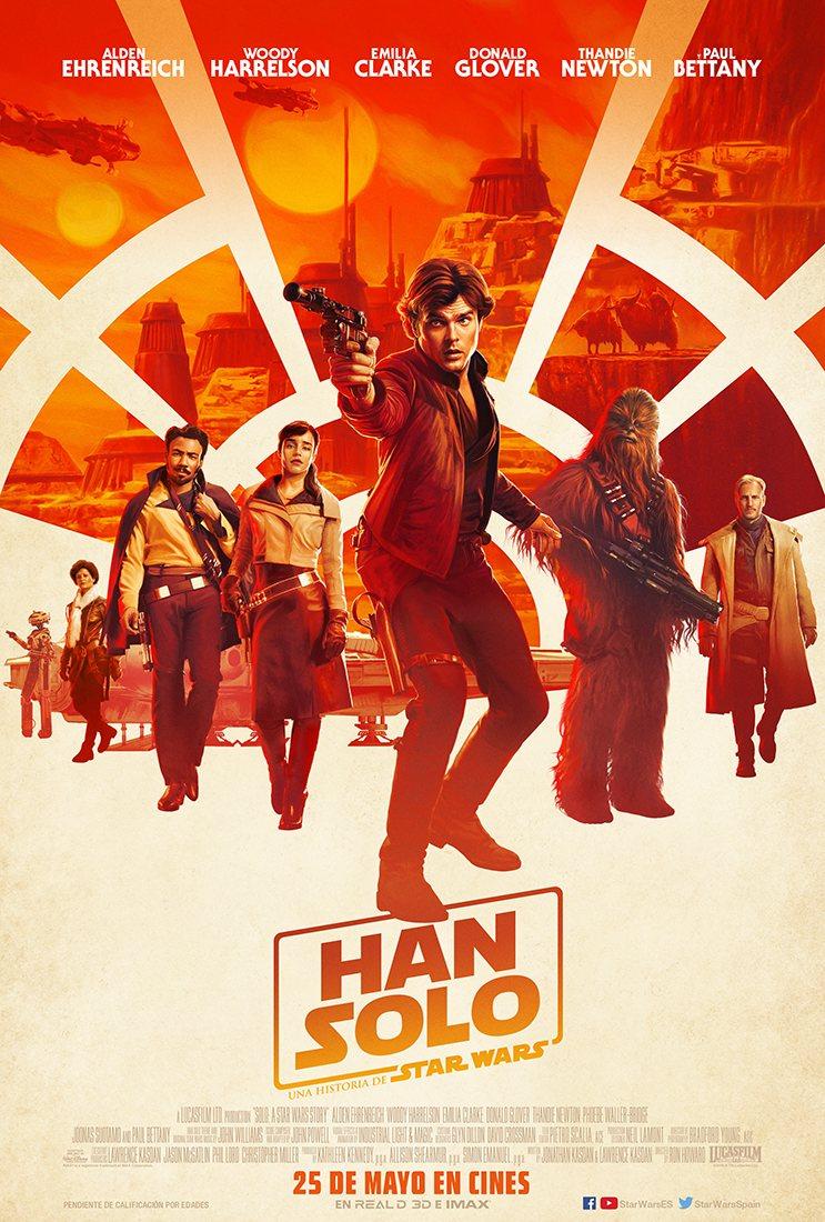 HAN SOLO: UNA HISTORIA DE STAR WARS Sala de Cine del EJE