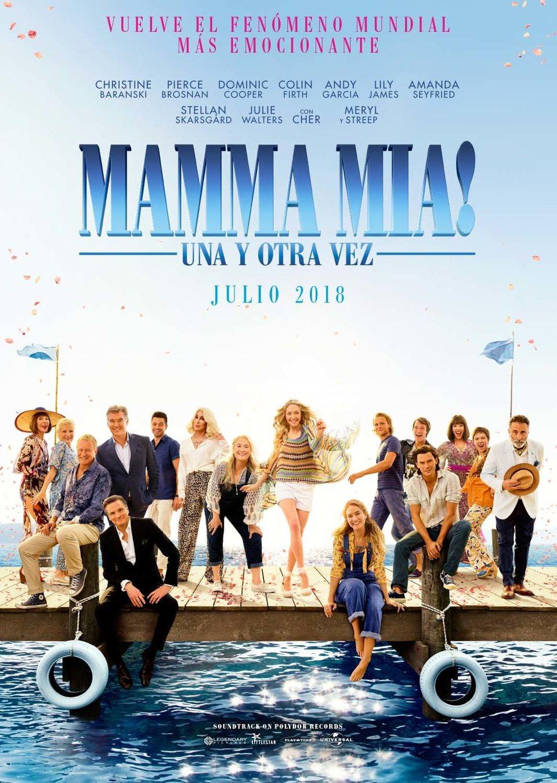 MAMMA MIA! UNA Y OTRA VEZ Multicines Guadalajara