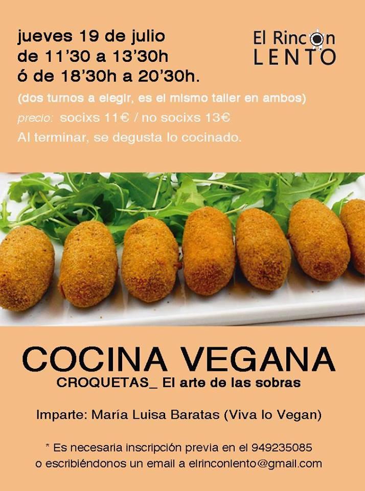 Taller de cocina vegana