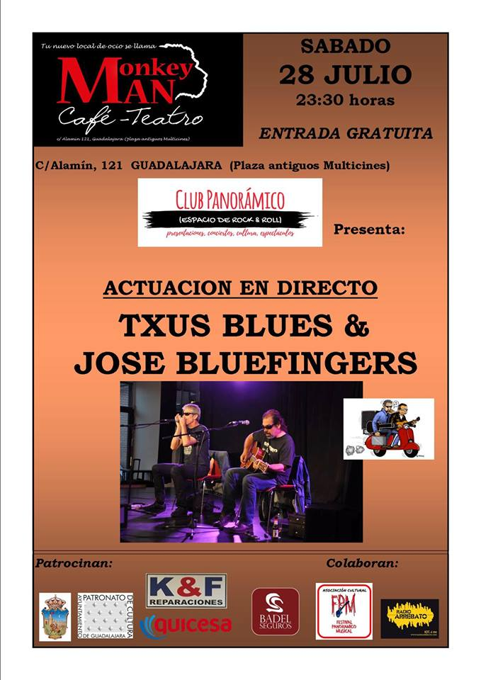 Txus Blues & José Bluefingers