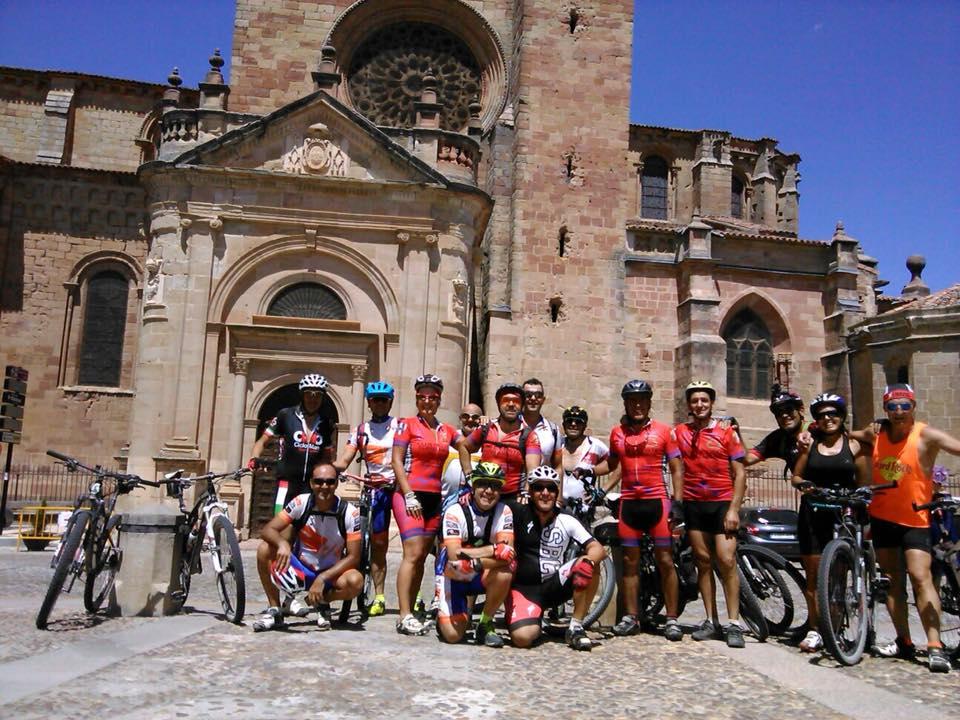 VII Subida Fontanar – Sigüenza 28/7/18 en bicicleta de montaña