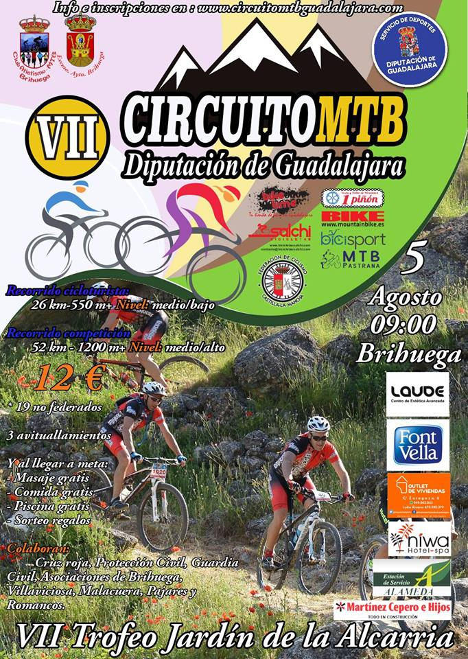 VII Trofeo MTB Jardín de la Alcarria