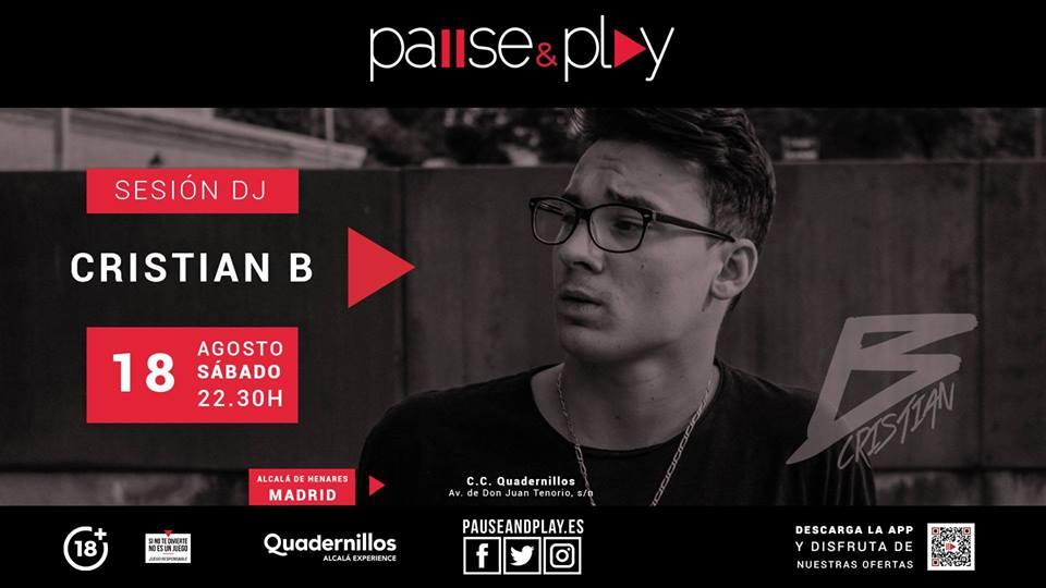 ¡DJ Cristian B! – Pause&Play Quadernillos