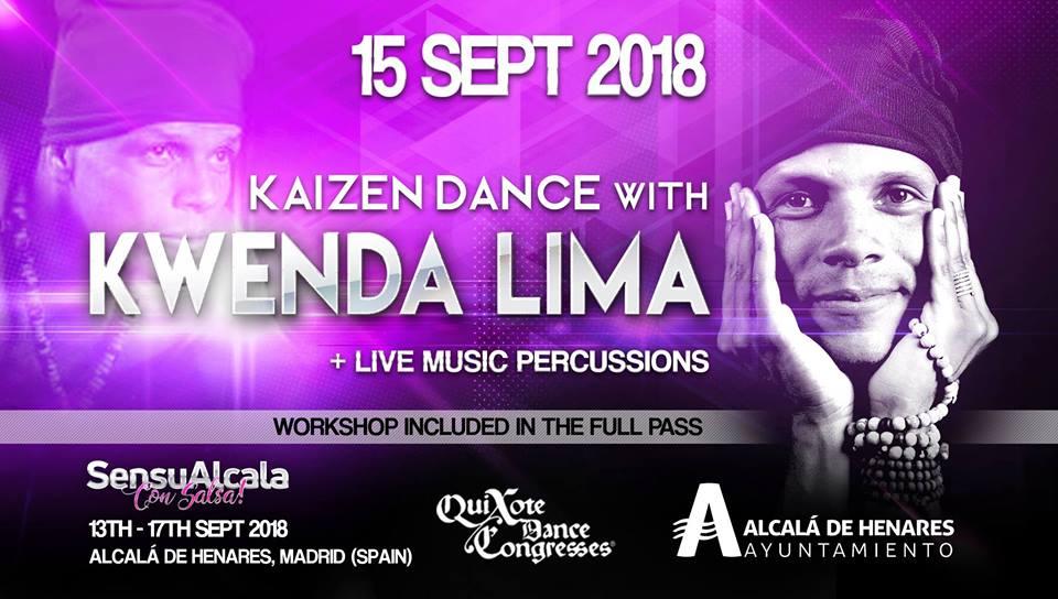 Kaizen Dance by Kwenda Lima in SensuAlcalá con Salsa!