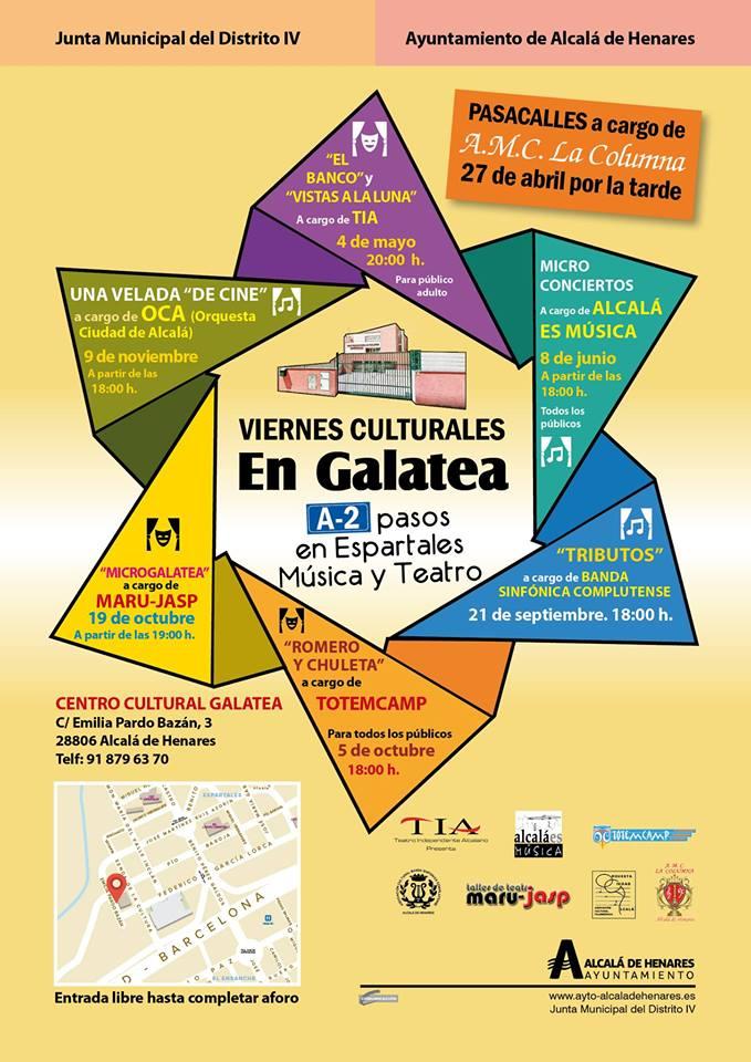 Concierto Tributos – Viernes Cultural en La Galatea