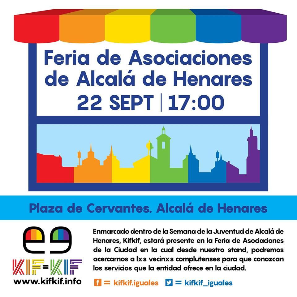 Feria de Asociaciones de Alcalá de Henares