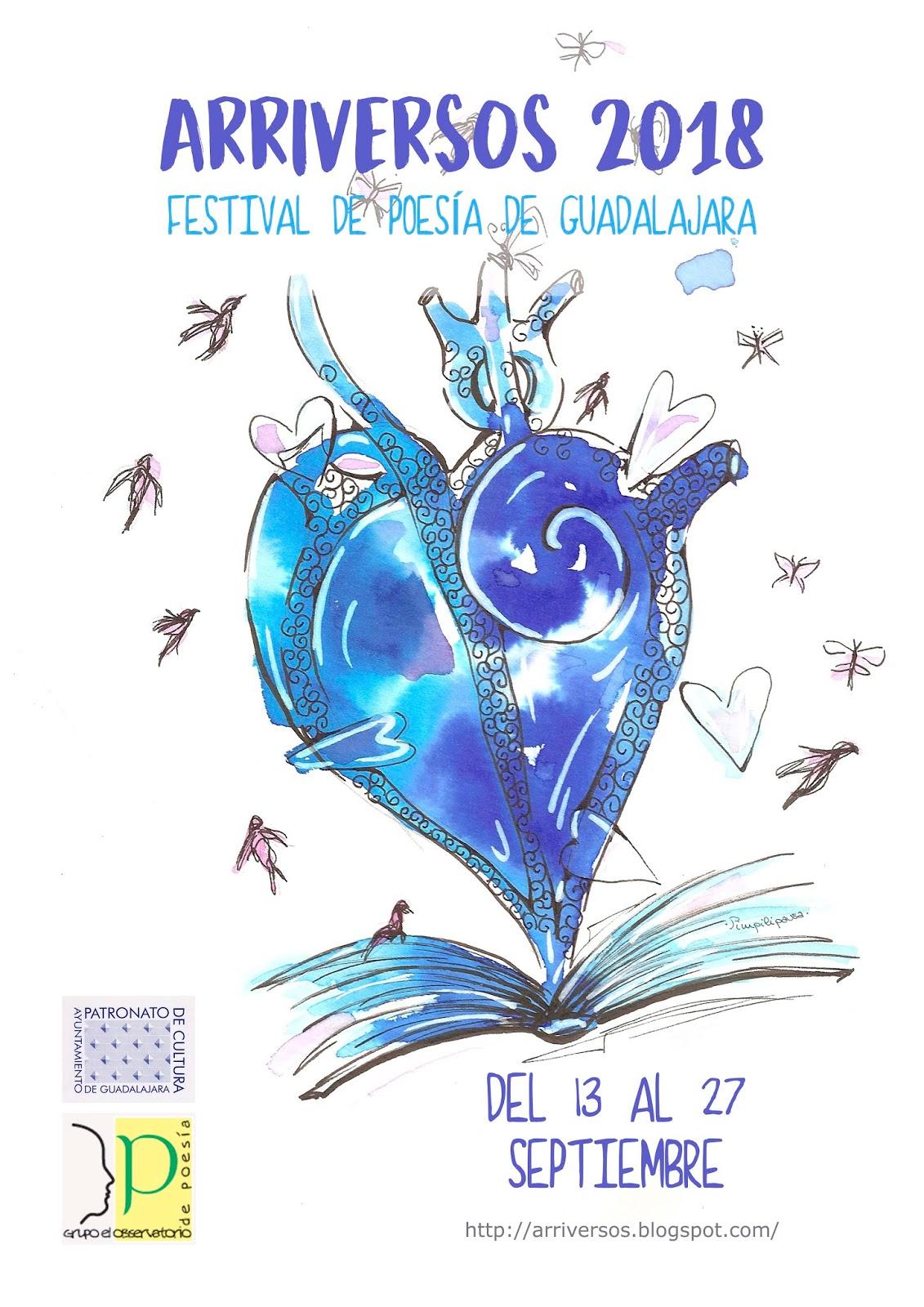 Festival de Poesía de Guadalajara Arriversos 2018