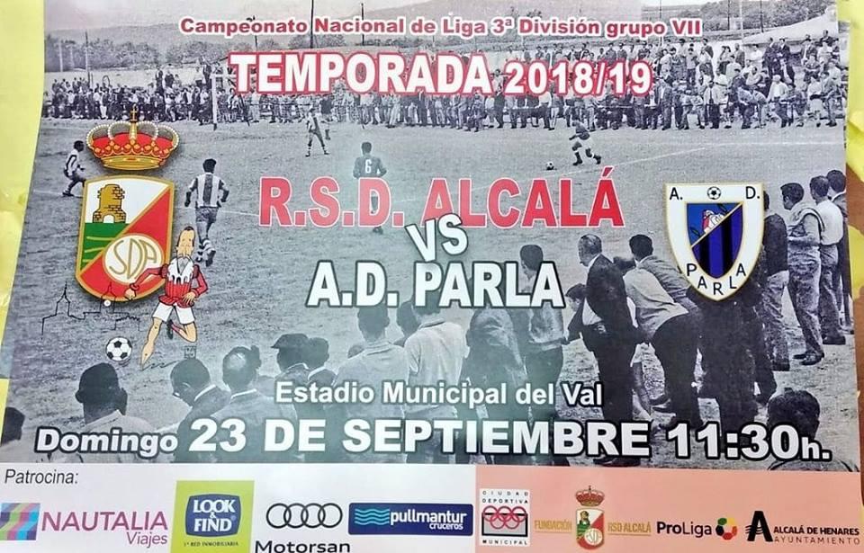 RSD Alcalá vs AD Parla