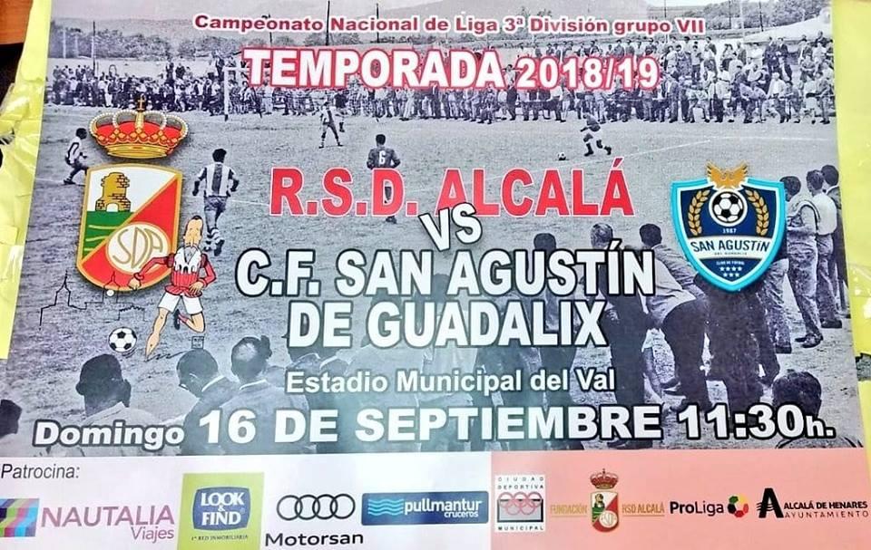 RSD Alcalá vs San Agustín de Guadalix