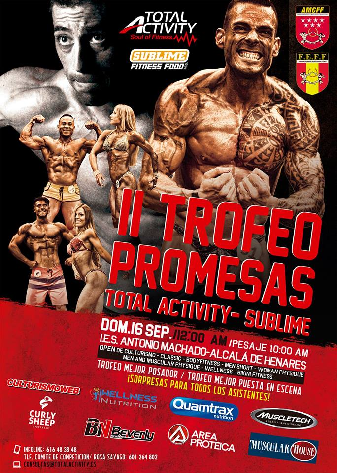 Trofeo Promesas Totalactivity Sublime ifbb