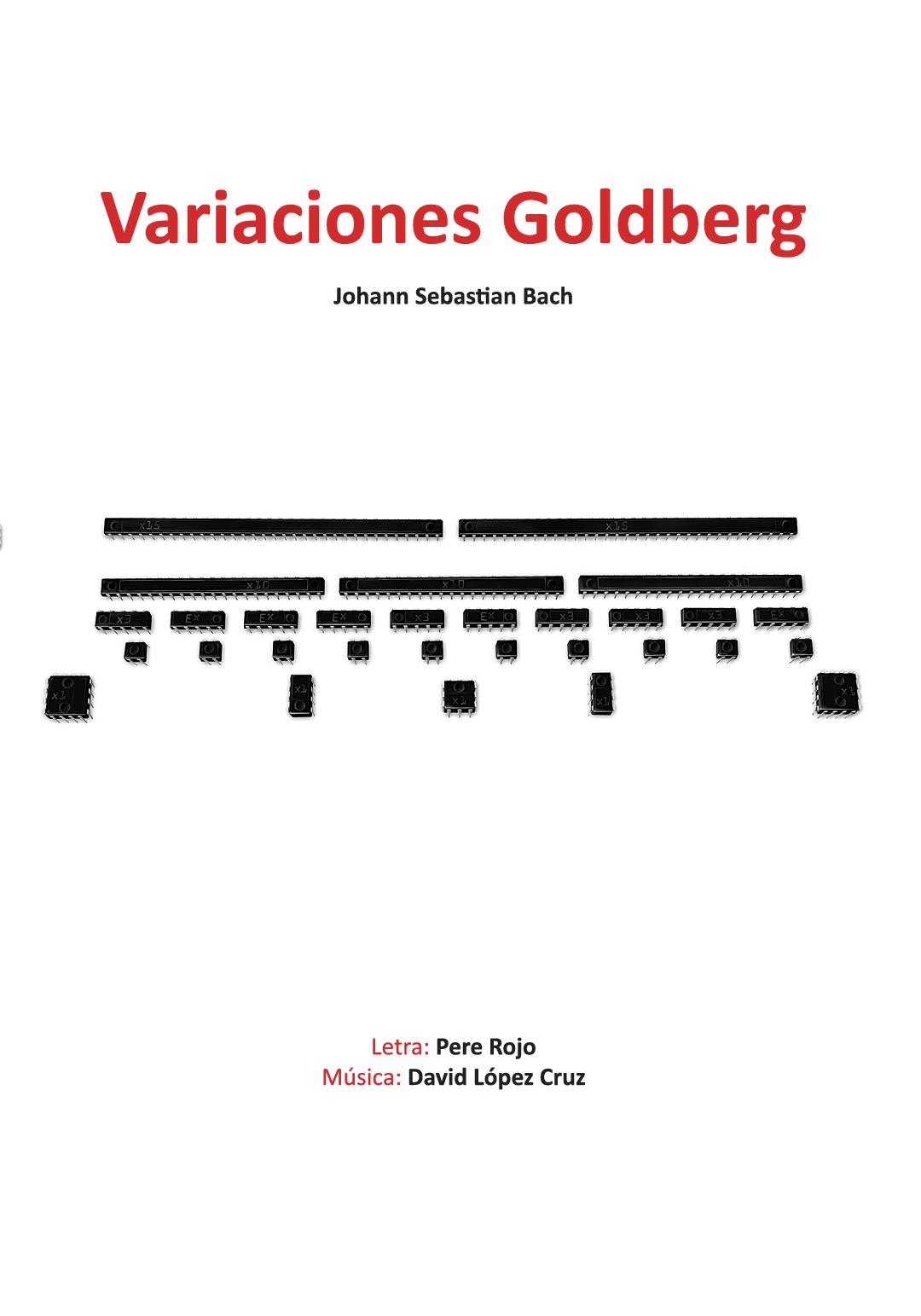 VARIACIONES GOLDBERG de David López y Pere Rojo Teatro Moderno