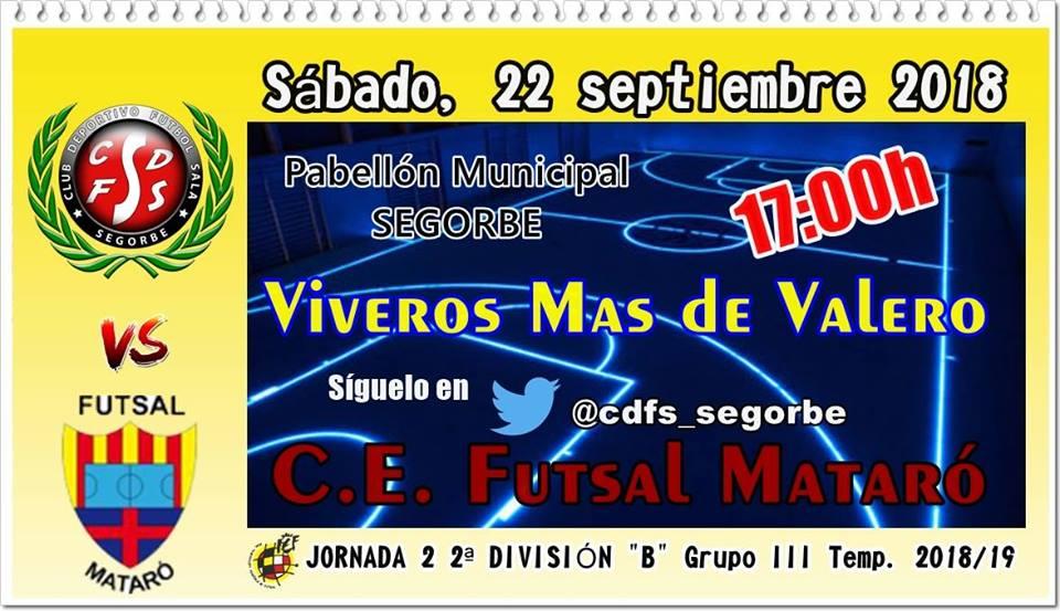 Viveros vs Futsal Mataró
