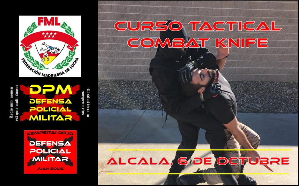 Curso Tactical Combat Knife